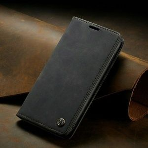 Leather Wallet Magnetic  Case for Samsung Galaxy